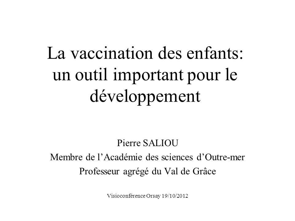 La vaccination des enfants: un outil important pour le développement