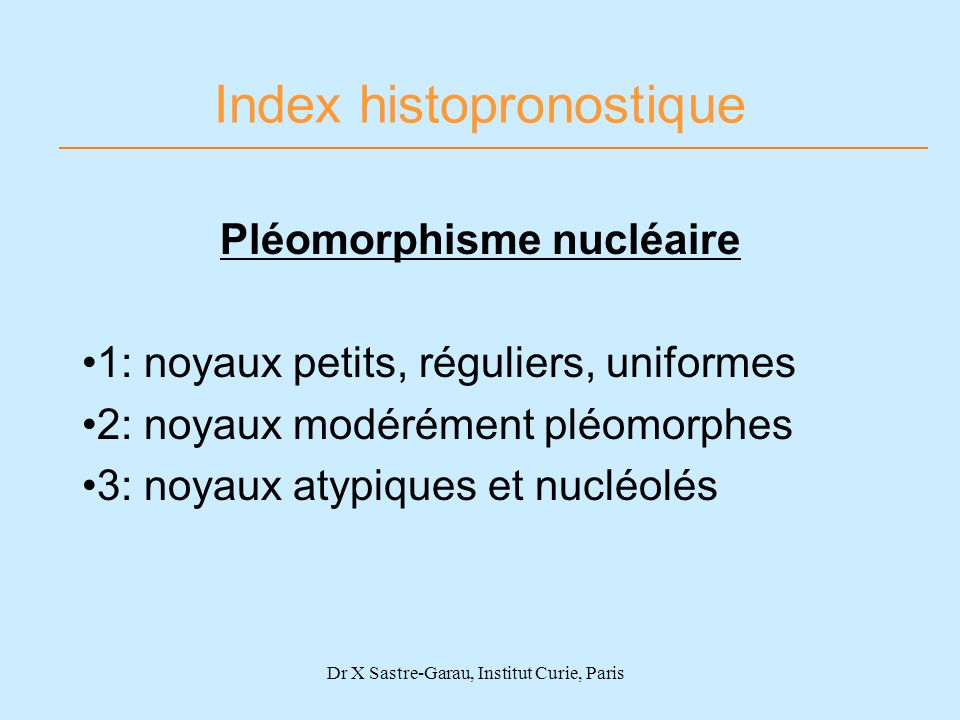 Index histopronostique