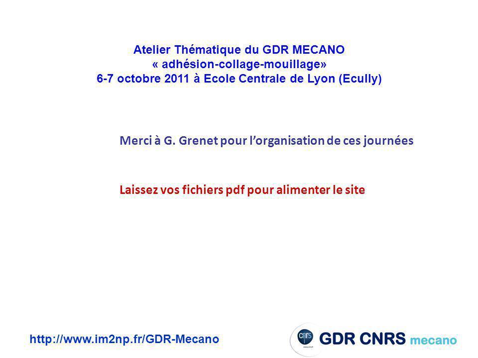 6-7 octobre 2011 à Ecole Centrale de Lyon (Ecully)