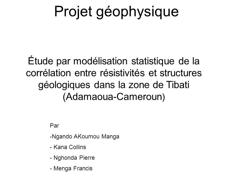 Projet géophysique