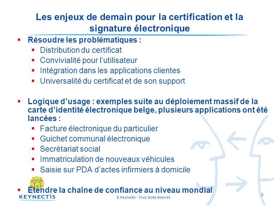Les enjeux de demain pour la certification et la signature électronique