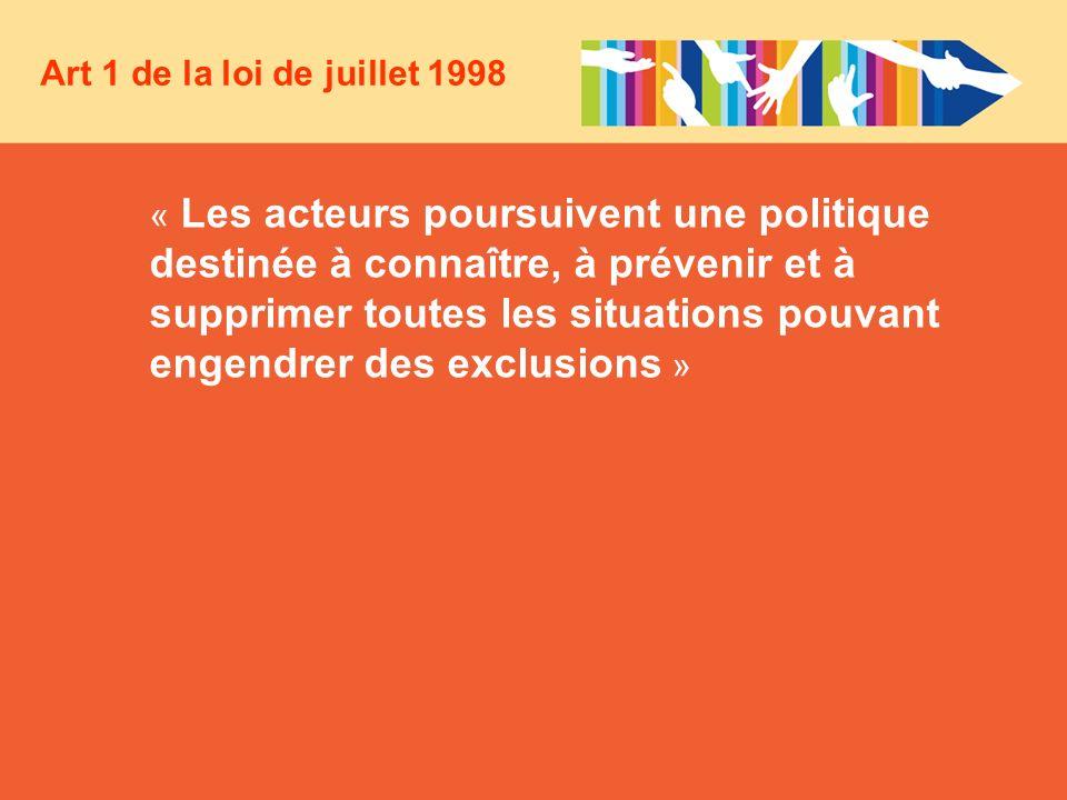 Art 1 de la loi de juillet 1998