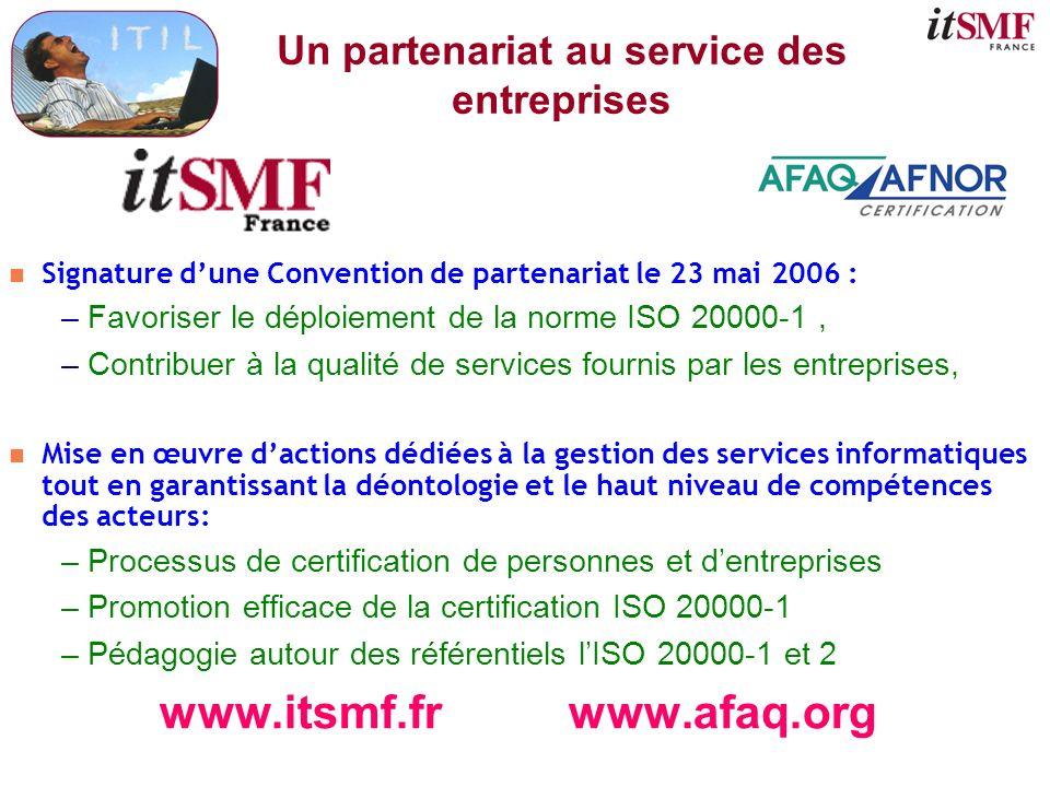 Un partenariat au service des entreprises