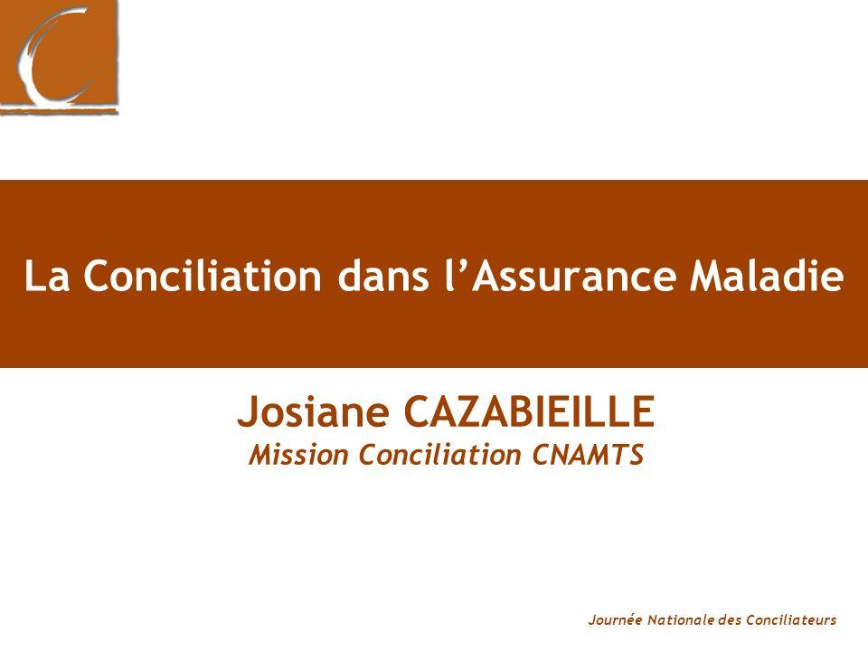 La Conciliation dans l'Assurance Maladie
