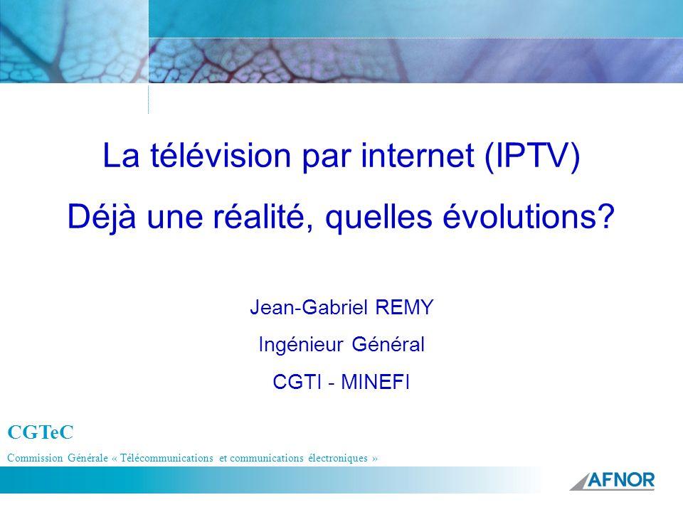 Jean-Gabriel REMY Ingénieur Général CGTI - MINEFI