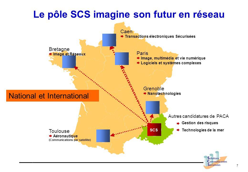 Le pôle SCS imagine son futur en réseau
