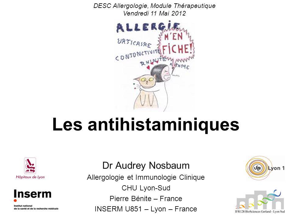 Les antihistaminiques
