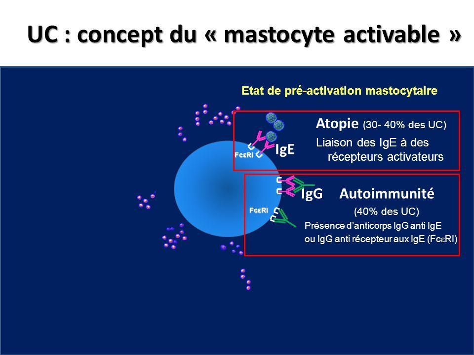 UC : concept du « mastocyte activable »