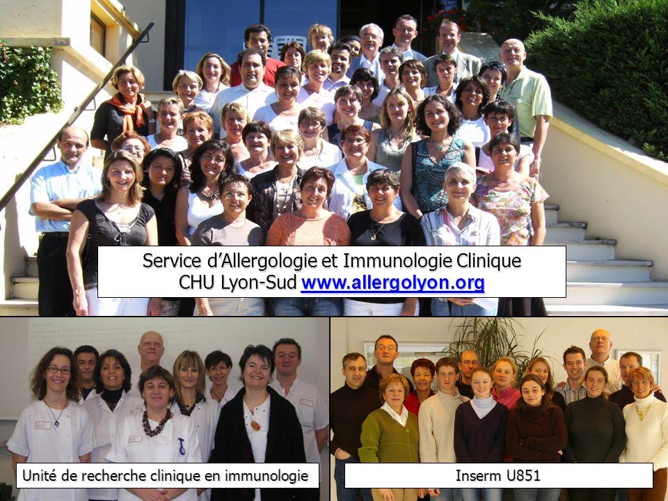 Service d'Allergologie et Immunologie Clinique