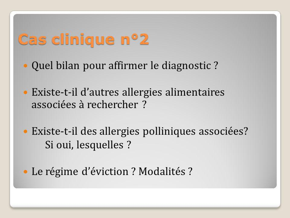 Cas clinique n°2 Quel bilan pour affirmer le diagnostic
