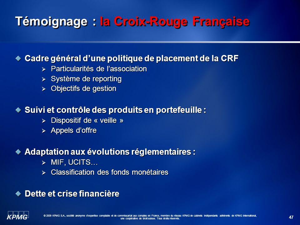 Témoignage : la Croix-Rouge Française