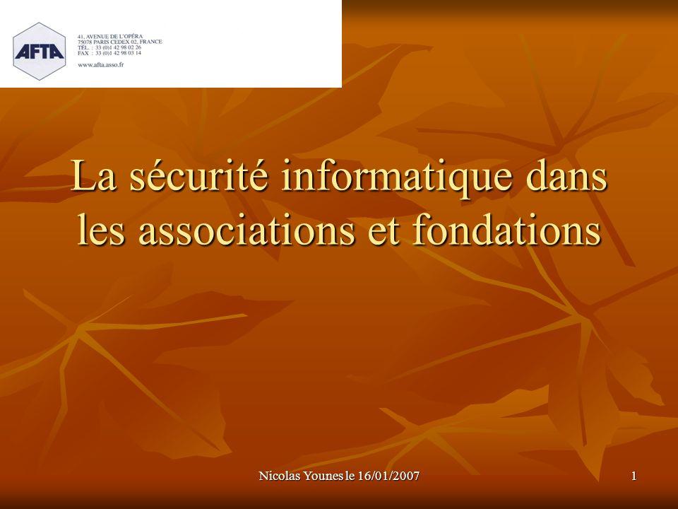 La sécurité informatique dans les associations et fondations