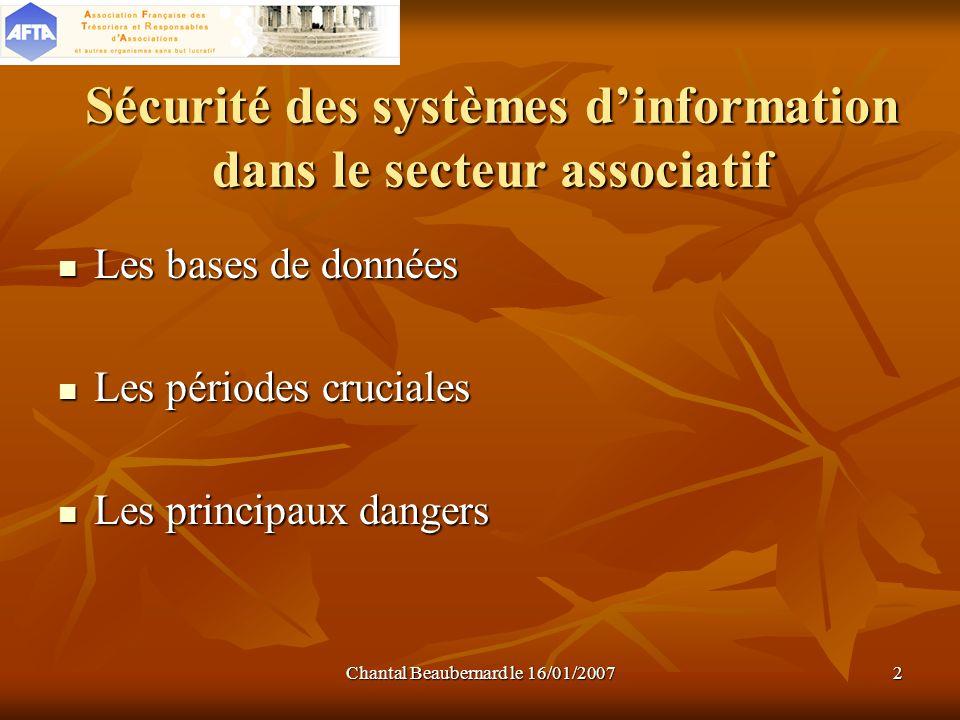Sécurité des systèmes d'information dans le secteur associatif