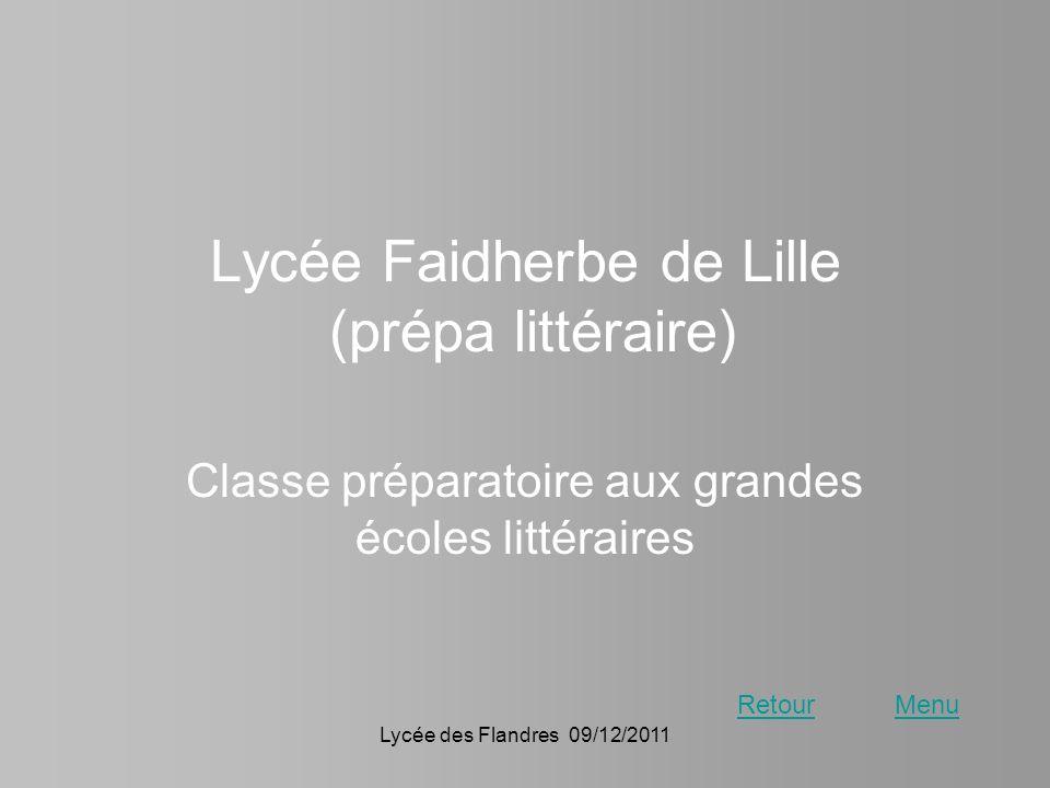 Lycée Faidherbe de Lille (prépa littéraire)