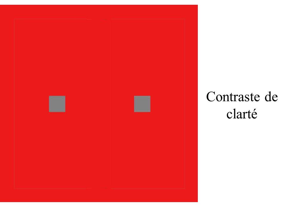 Contraste de clarté