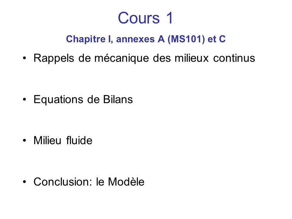 Cours 1 Chapitre I, annexes A (MS101) et C