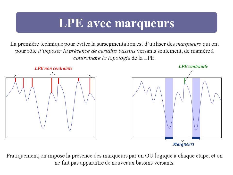 LPE avec marqueurs