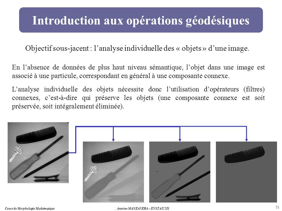 Introduction aux opérations géodésiques