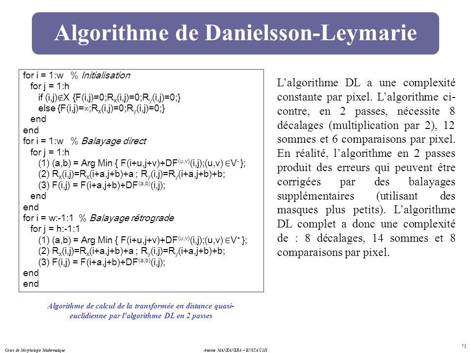 Algorithme de Danielsson-Leymarie