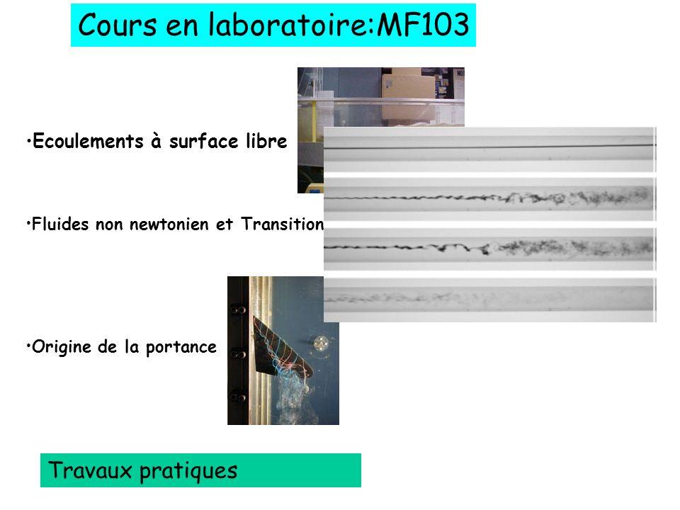 Cours en laboratoire:MF103