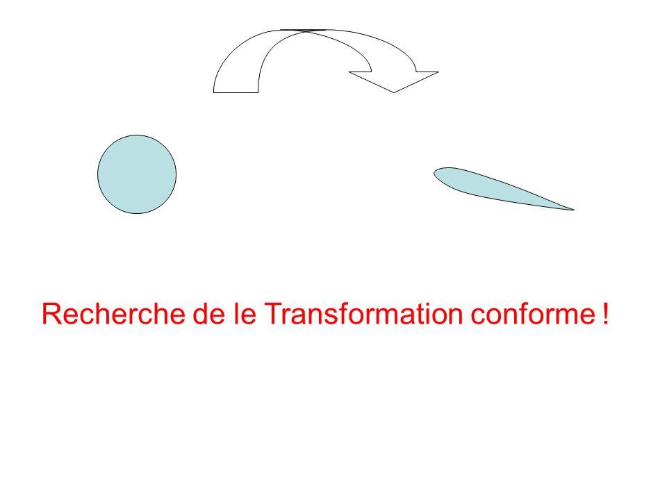 Recherche de le Transformation conforme !