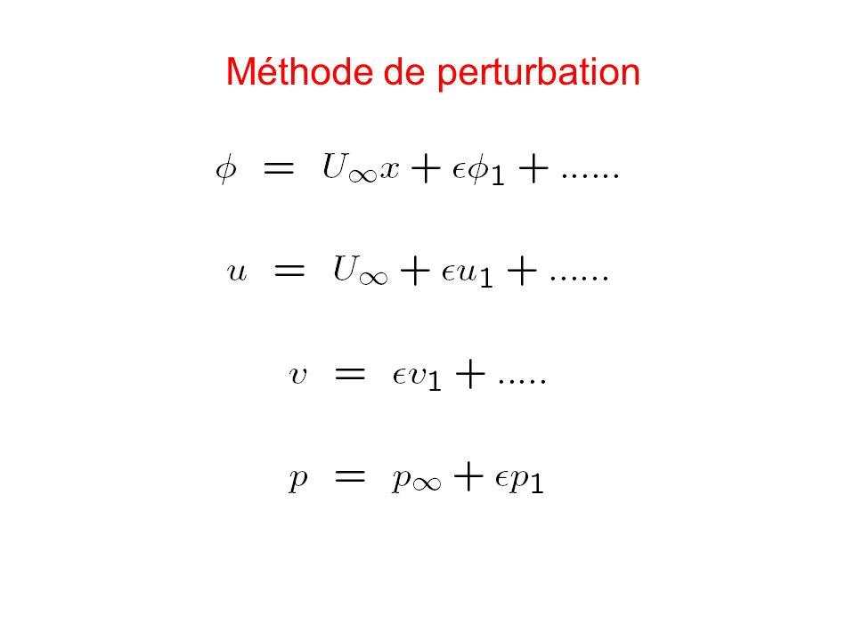 Méthode de perturbation