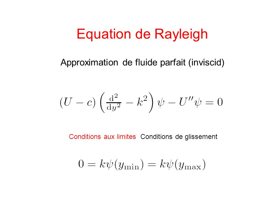 Approximation de fluide parfait (inviscid)