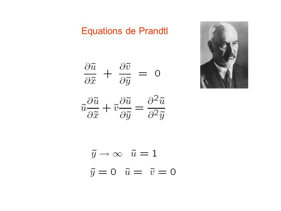 Equations de Prandtl