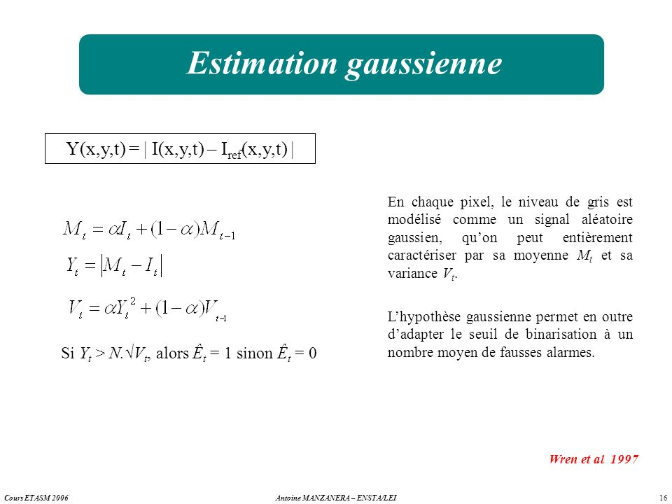 Estimation gaussienne