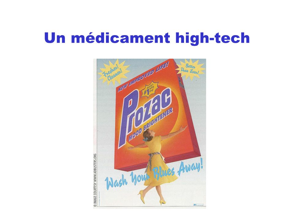 Un médicament high-tech