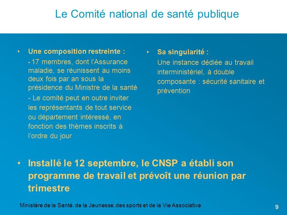 Le Comité national de santé publique