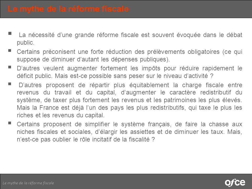 Le mythe de la réforme fiscale