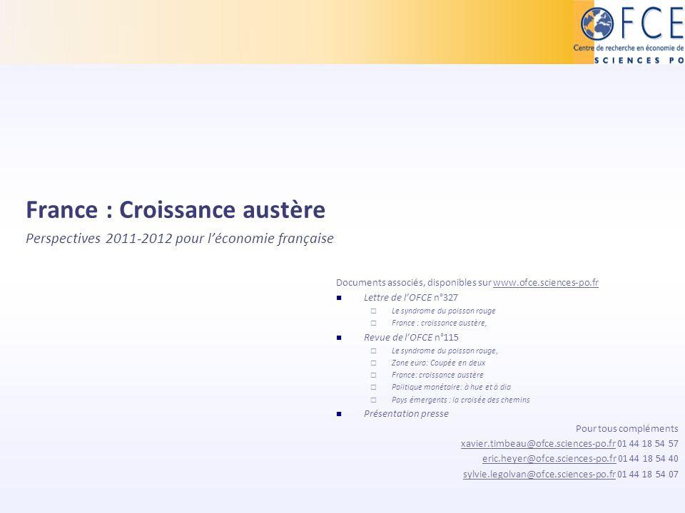 France : Croissance austère