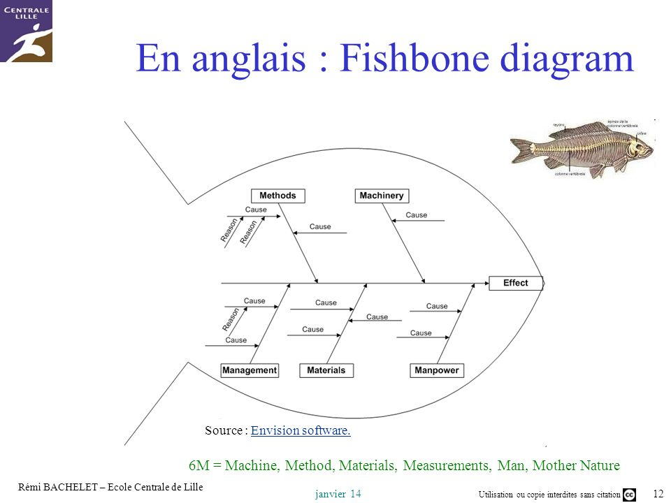 En anglais : Fishbone diagram