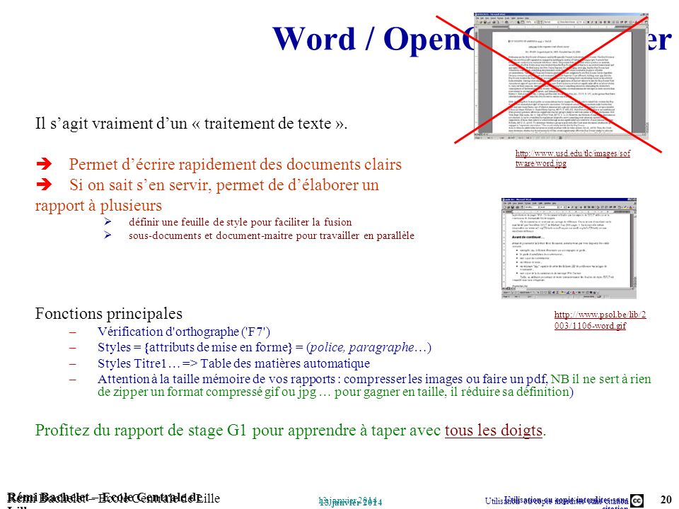 Word / OpenOffice sWriter