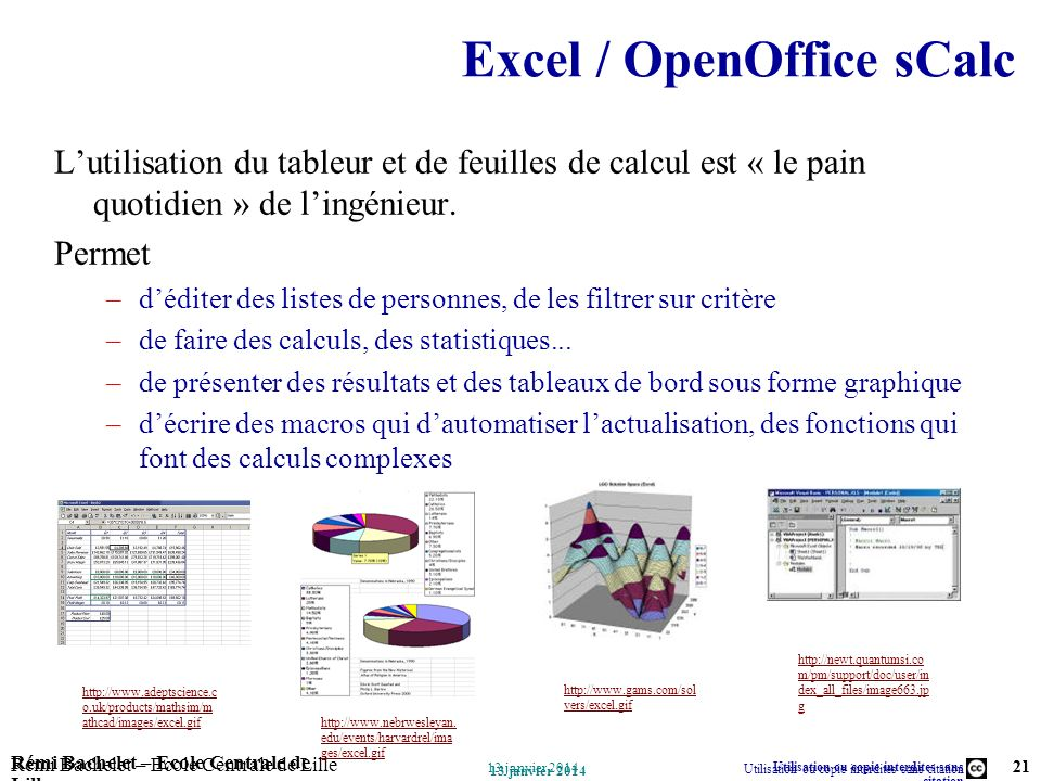 Excel / OpenOffice sCalc