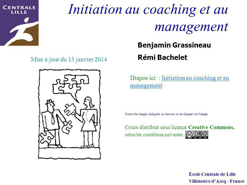 Initiation au coaching et au management