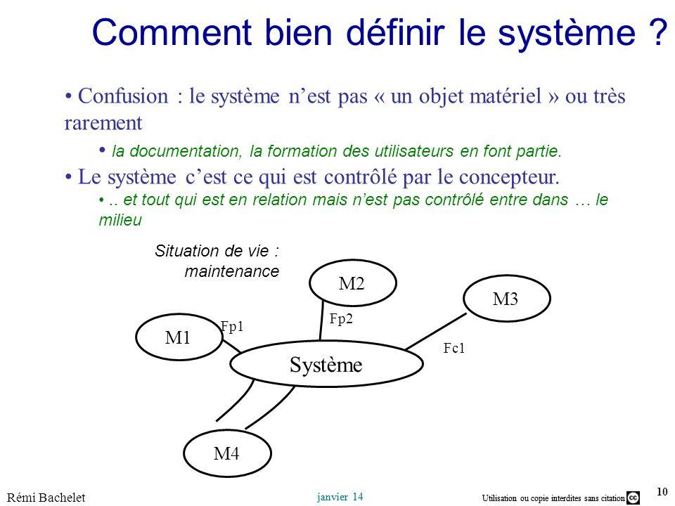 Comment bien définir le système