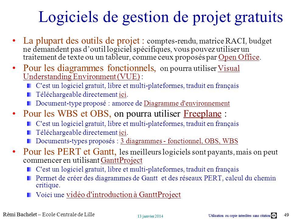 Logiciels de gestion de projet gratuits