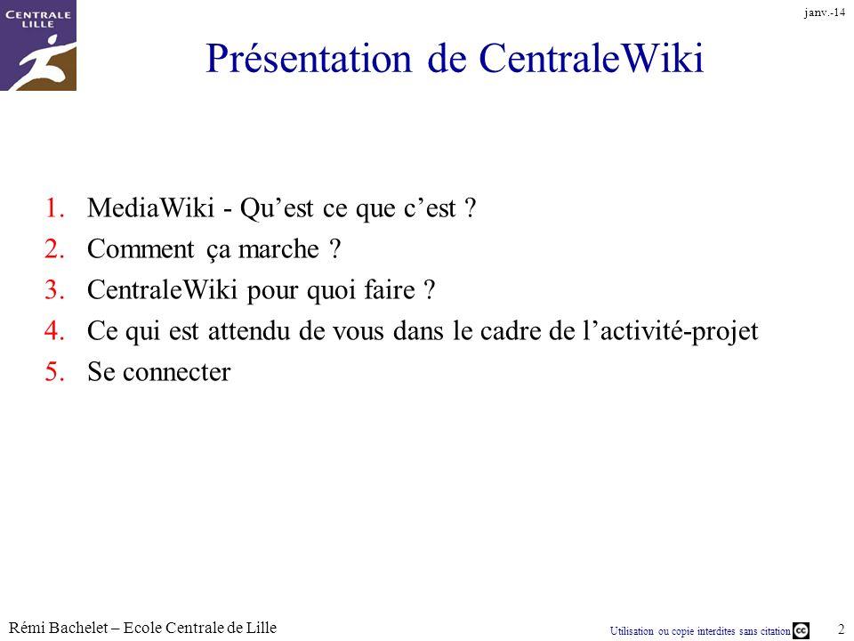 Présentation de CentraleWiki