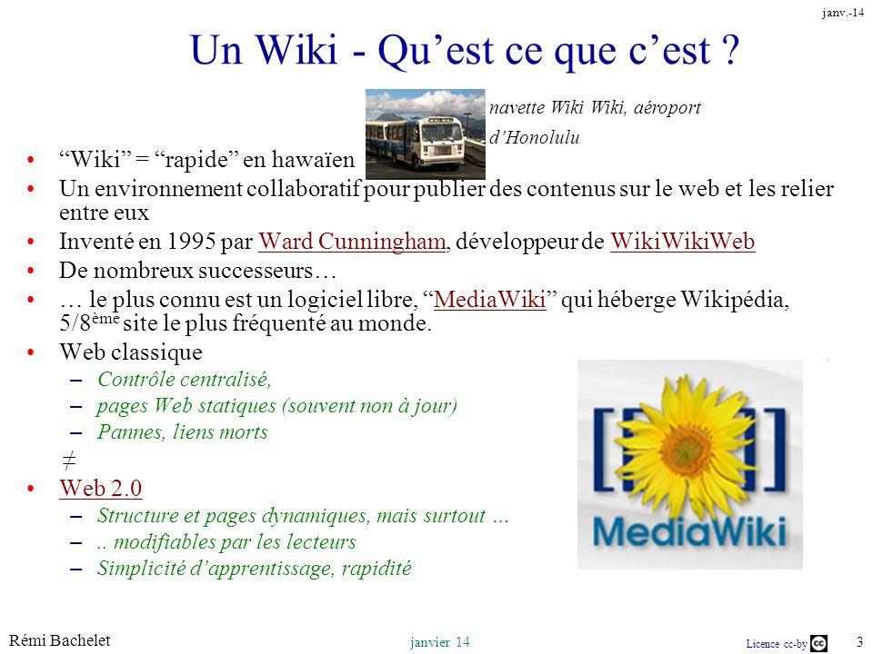 Un Wiki - Qu'est ce que c'est