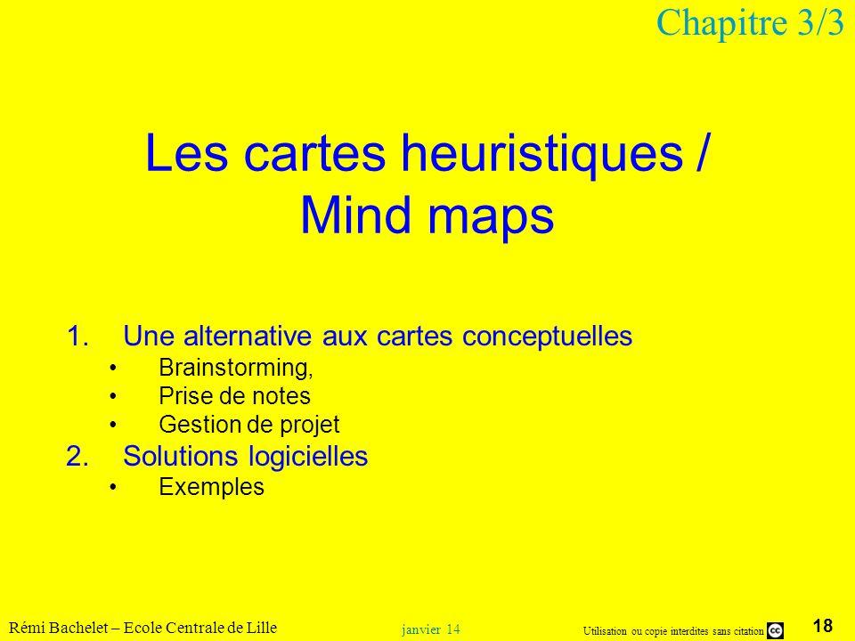 Les cartes heuristiques / Mind maps