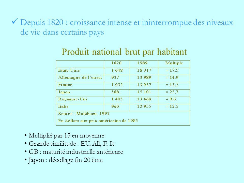Produit national brut par habitant