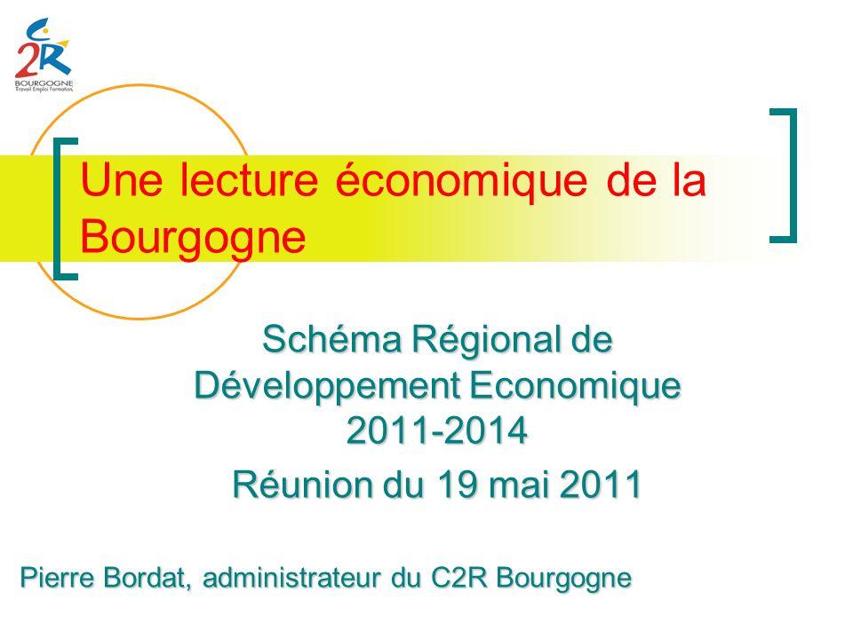 Une lecture économique de la Bourgogne
