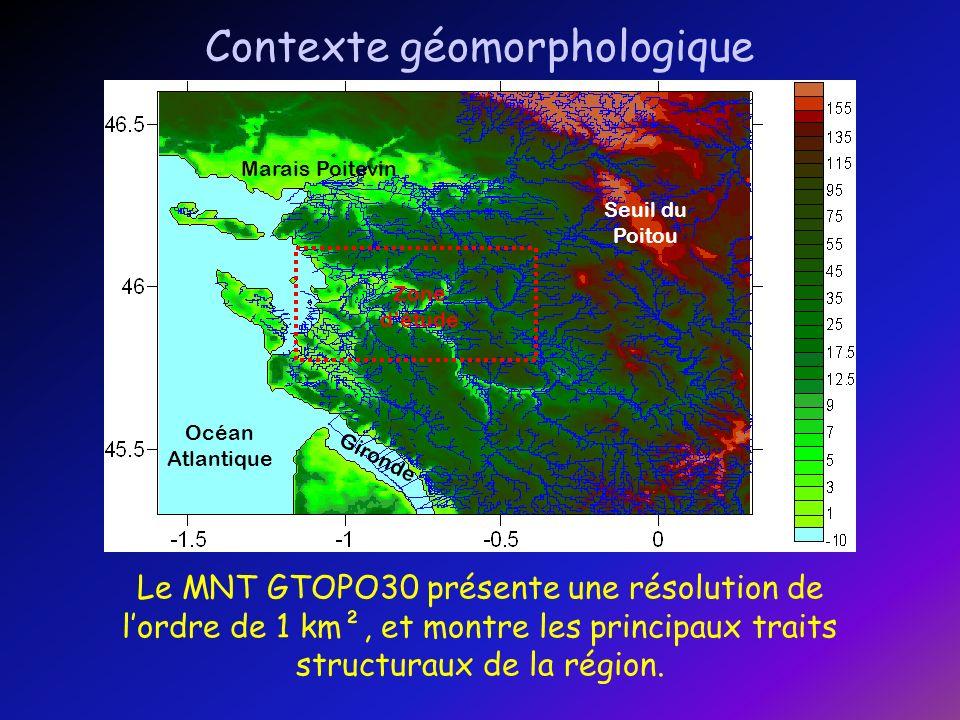 Contexte géomorphologique