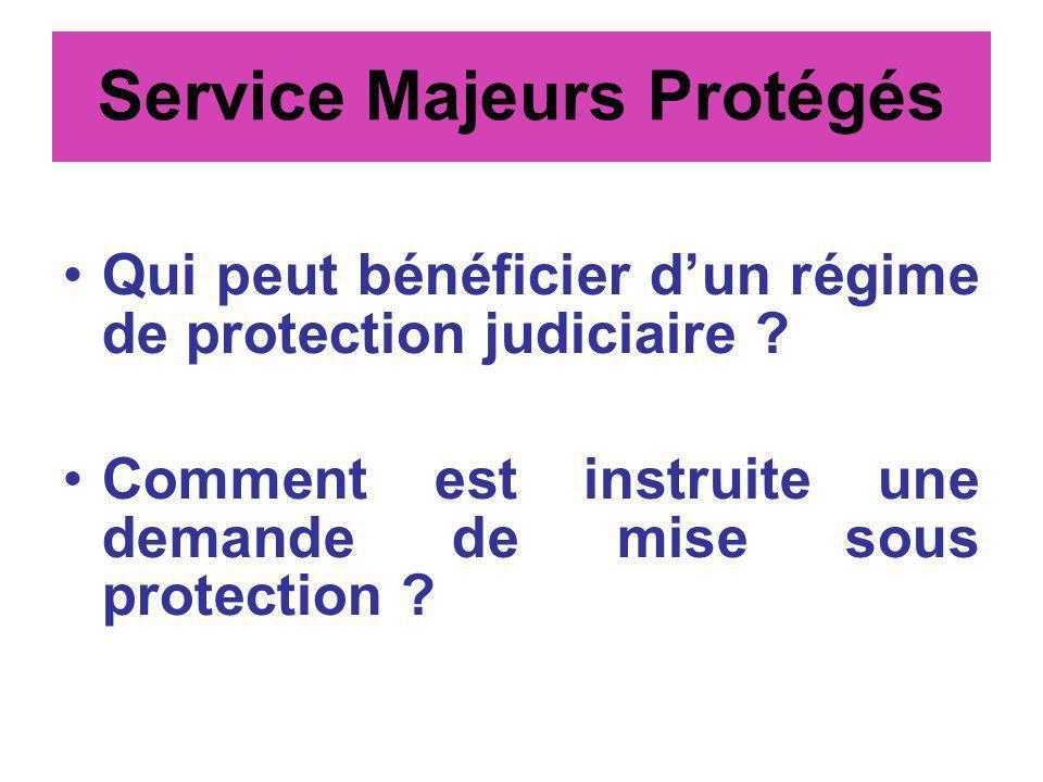 Service Majeurs Protégés