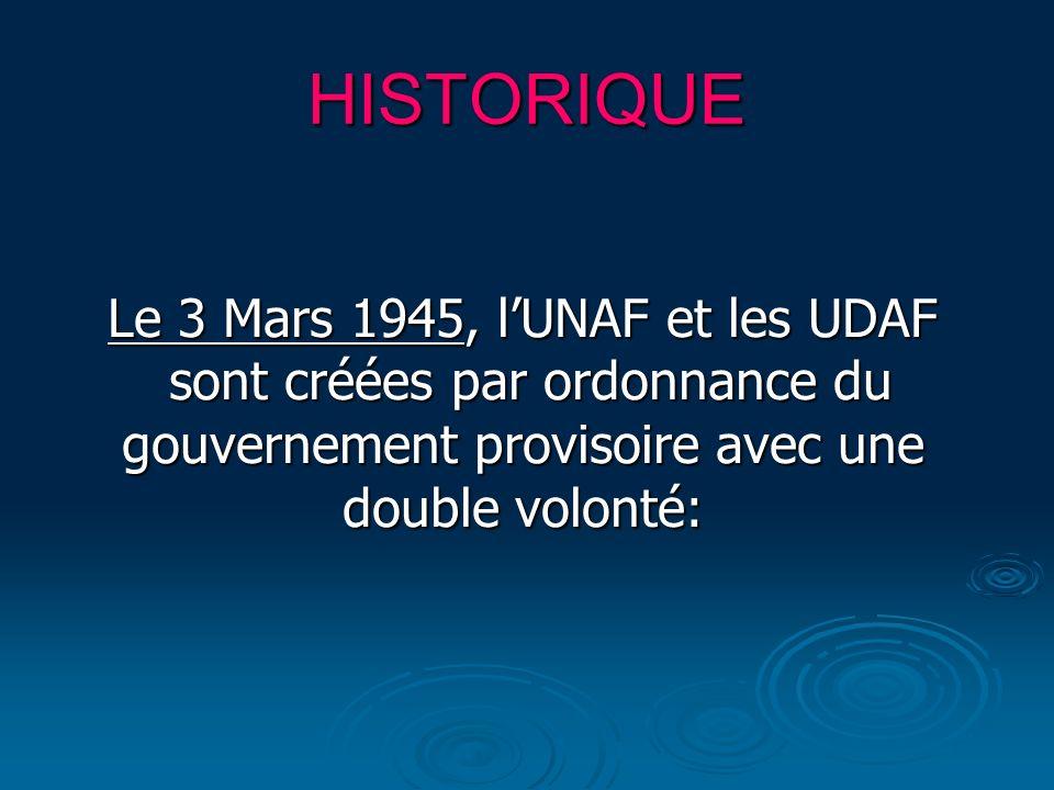 Le 3 Mars 1945, l'UNAF et les UDAF