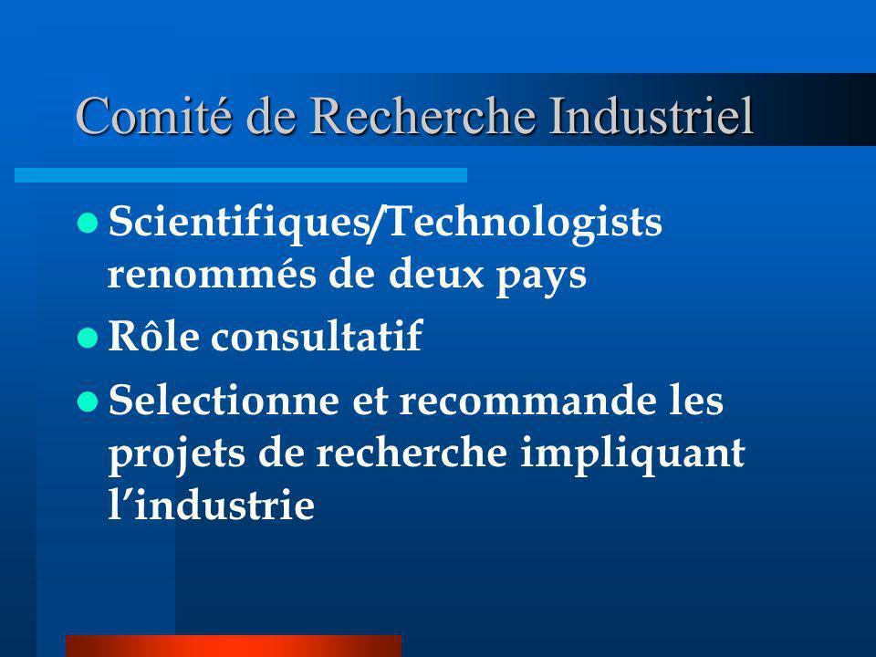 Comité de Recherche Industriel