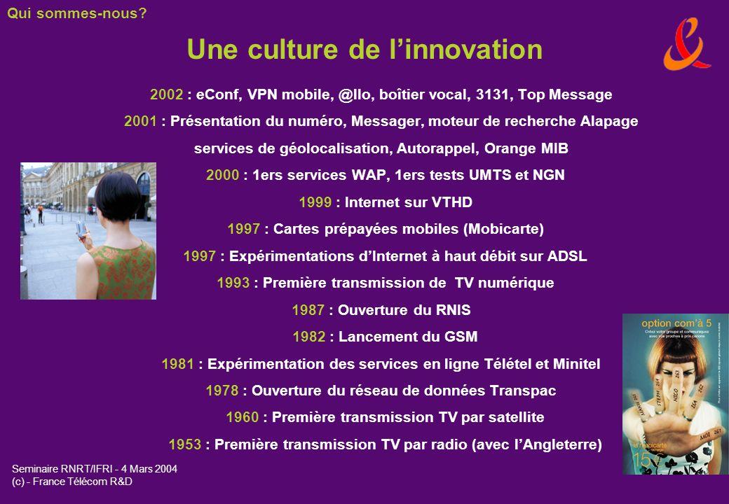 Une culture de l'innovation