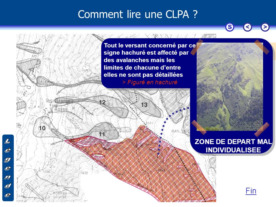 ZONE DE DEPART MAL INDIVIDUALISEE